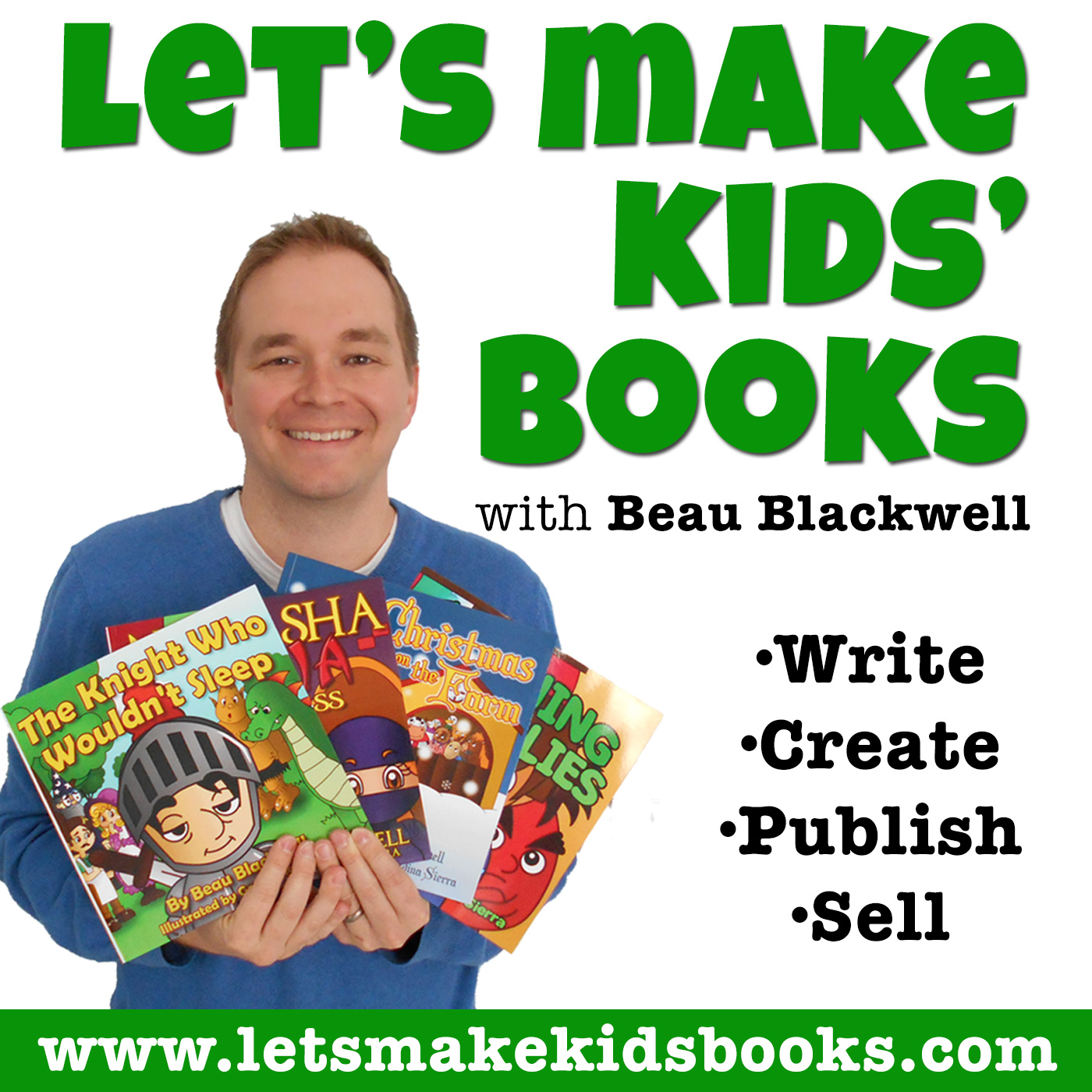 Introducing the Let's Make Kids' Books Podcast!